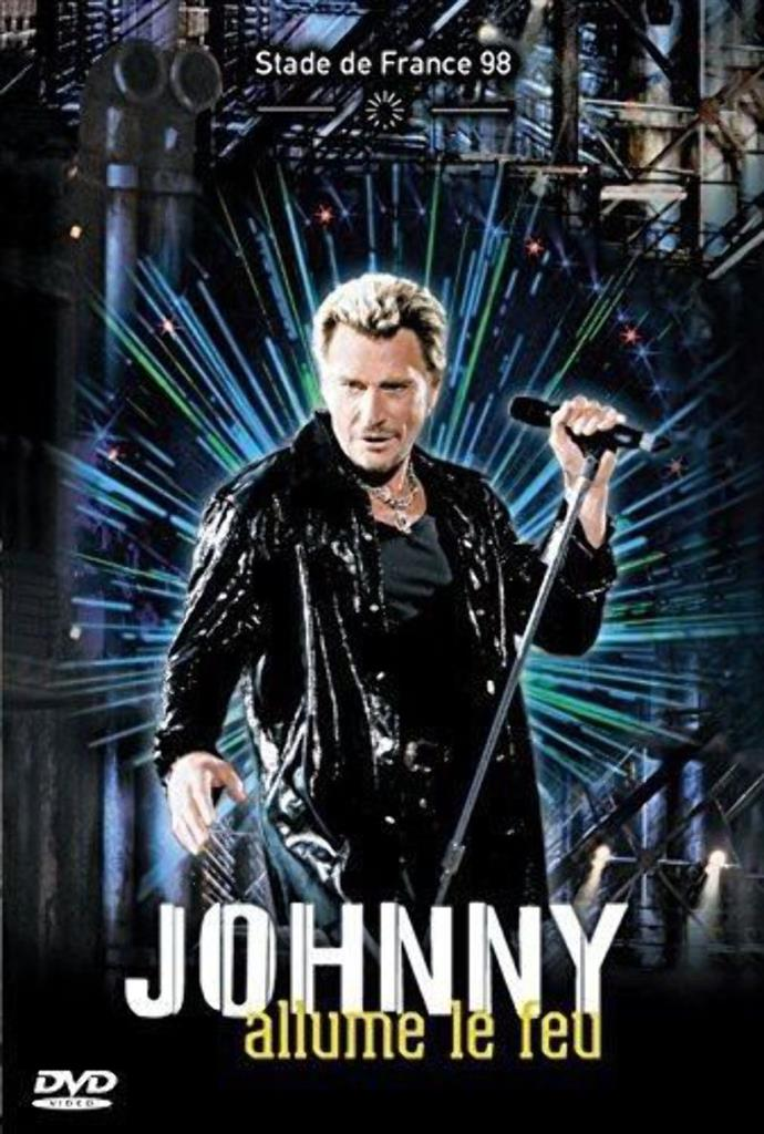 Johnny Hallyday - Allume le feu-Stade France 98