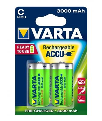 PILE RECHARGEABLE LR14  ACCUS 3000 BP2