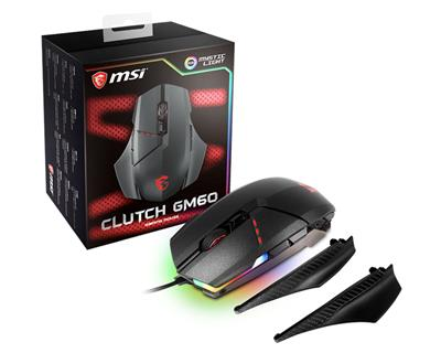 MSI SOURIS CLUTCH GM60 GAMING