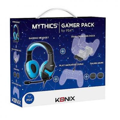 KONIX PACK GAMER  PS4