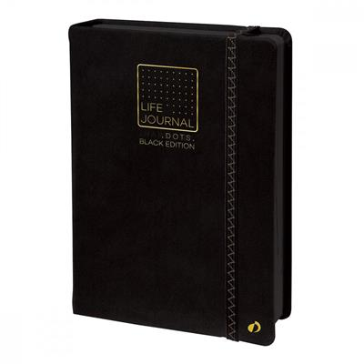 LIFE JOURNAL DOTS BLACK EDITION