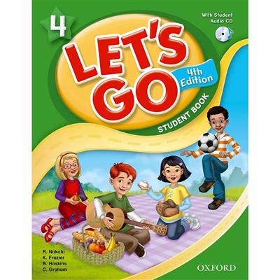 Let's go 4  Student's Book with Audio CD Pack