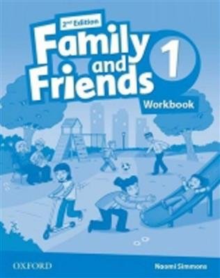 Family and Friends 2nd Edition level 1 workbook