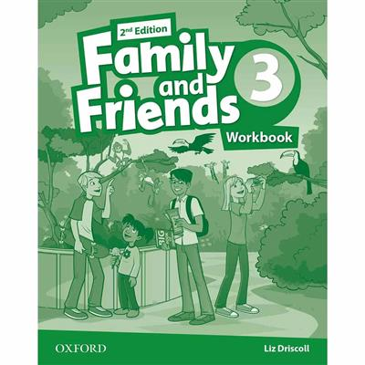 Family and Friends 2nd Edition level 3 workbook